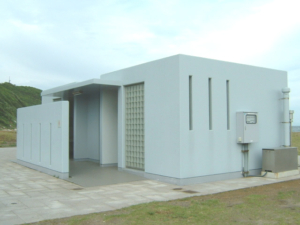愛知県伊良港トイレ