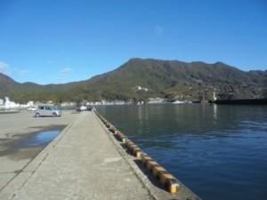 三重の釣り場 尾鷲港 中川河口堤 FISH&MAPS