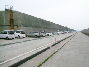和歌山北港釣り公園駐車スペース FISH&MAPS