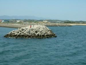 三重県の釣り場 白塚漁港北堤防先端 FISH&MAPS