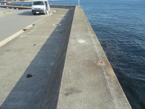 愛知県の釣り場豊浜漁港南堤防02 FISH&MAPS