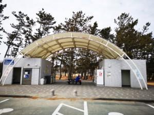 静岡県中田島砂丘風車公園トイレ