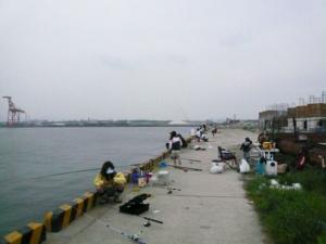 和歌山県水軒一文字 埋立地岸壁 FISH&MAPS