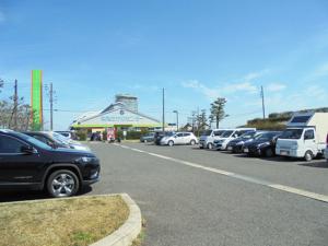 鳥取県夢みなと公園駐車スペース FISH&MAPS