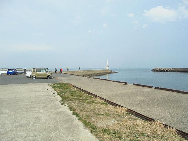 三重県白子港南堤