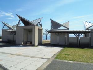 鳥取県夢みなと公園トイレ FISH&MAPS
