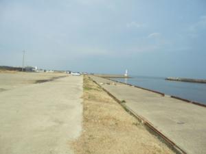 三重県白子港南堤駐車スペース