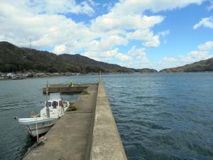 京都府栗田漁港突堤先端付近 釣り場サイトFISH&MAPS