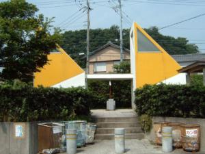 愛知県知多半島片名漁港トイレ
