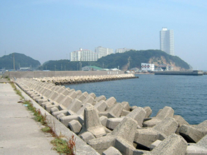 愛知県片名漁港南岸壁テトラ帯 釣り場サイトFISH&MAPS