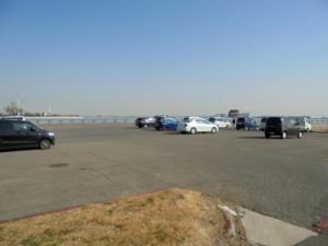 愛知県武豊緑地駐車場