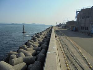 愛知県師崎漁港東岸壁 釣り場サイトFISH&MAPS